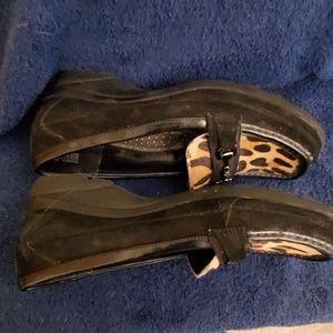 Anne Klein Shoes - Anne Klein leopard print loafers